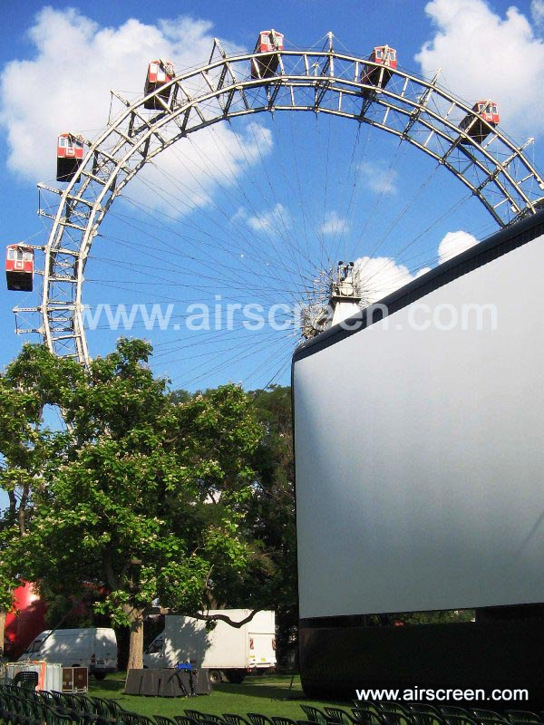 AIRSCREEN am Prater in Wien