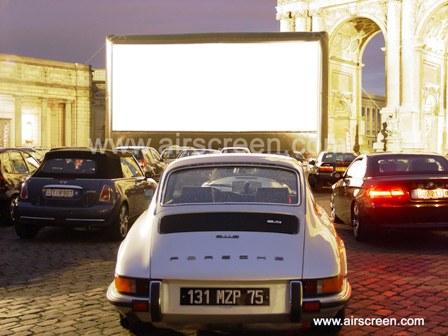 Autokino mit AIRSCREEN in Brüssel