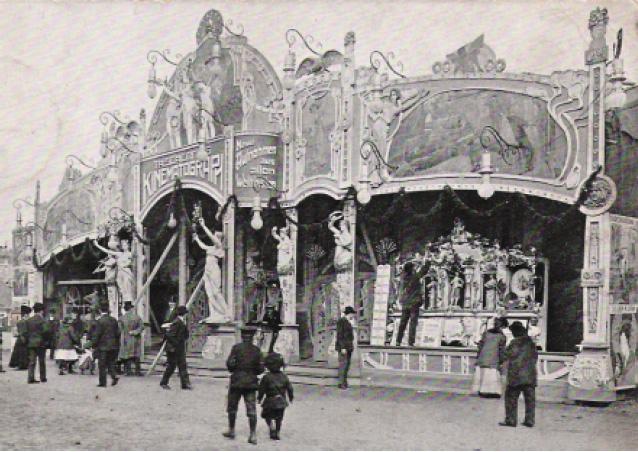 Wanderkino im Jahr 1907