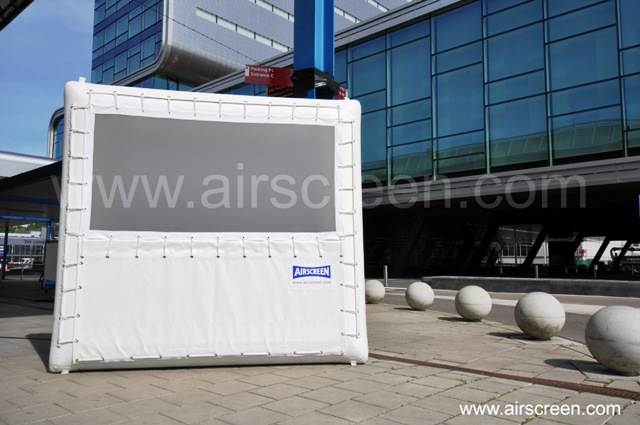 AIRSCREEN plus auf der Cinema Expo