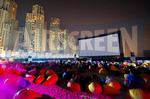 AIRSCREEN auf dem Dubai Film Festival