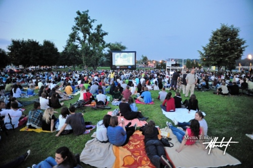 Screen on the Green in Zagreb