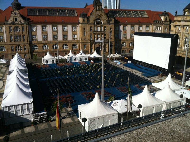 Filmnächte auf dem Theaterplatz in Chemnitz