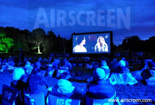 Open-Air-Kino in Schottland