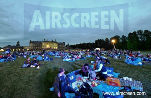 Open-air-cinema at Hopetoun House