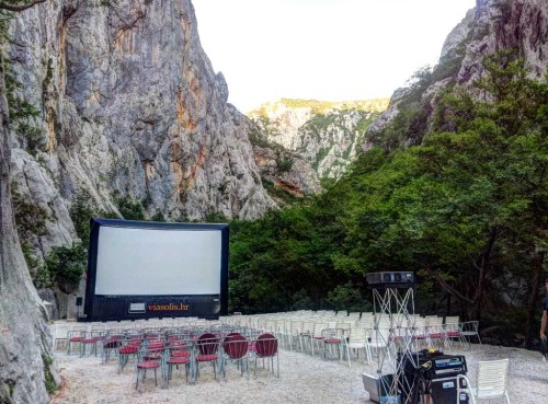 Filmfestival im kroatischen Nationalpark