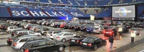 Große 1Live Autokinotour in der Arena auf Schalke