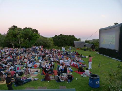Open-Air-Kino am Tafelberg